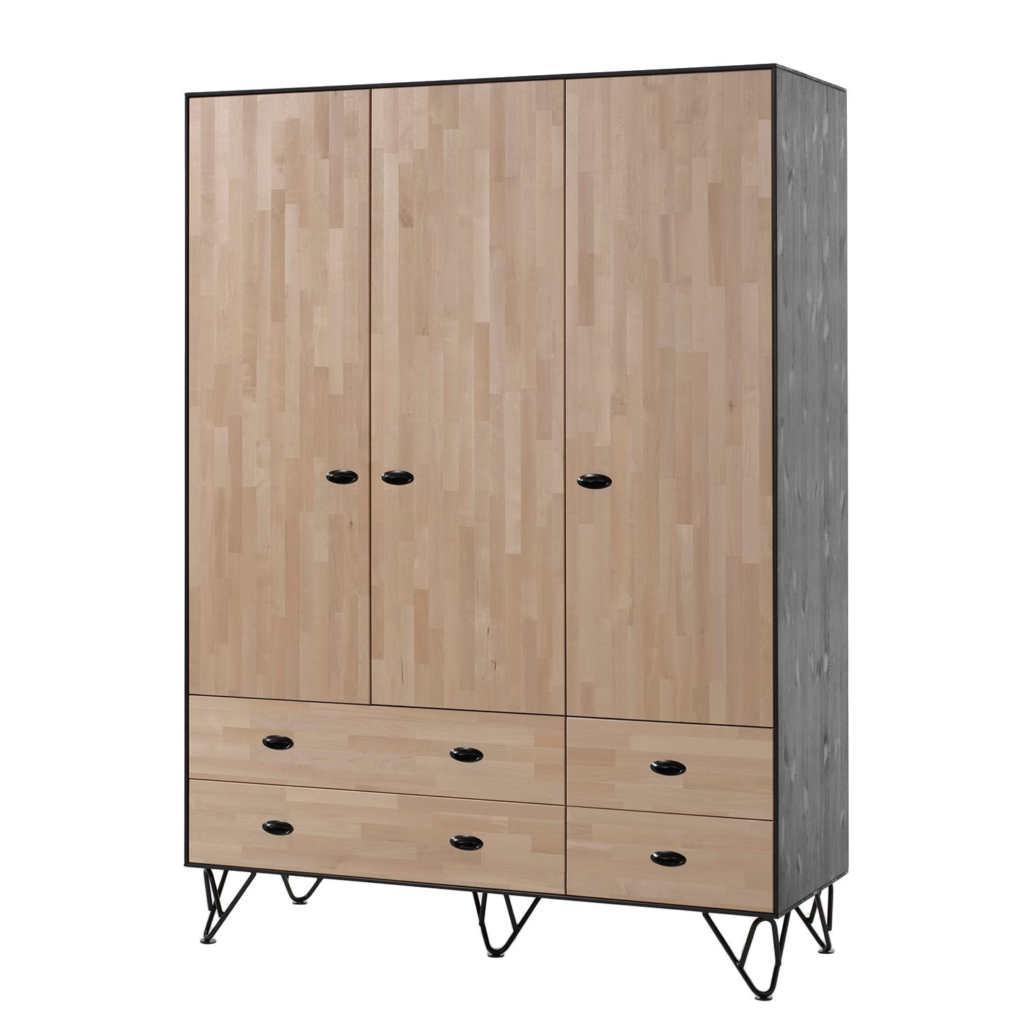 schrank 150 cm breit excellent pax schrank mit. Black Bedroom Furniture Sets. Home Design Ideas