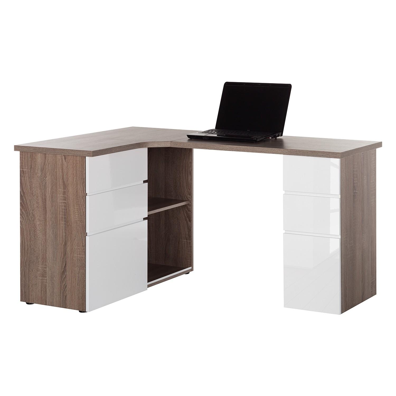 eck schreibtisch weiss preisvergleiche erfahrungsberichte und kauf bei nextag. Black Bedroom Furniture Sets. Home Design Ideas