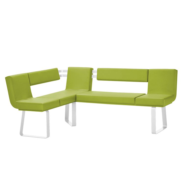 eckbank leder weiss preisvergleiche erfahrungsberichte. Black Bedroom Furniture Sets. Home Design Ideas