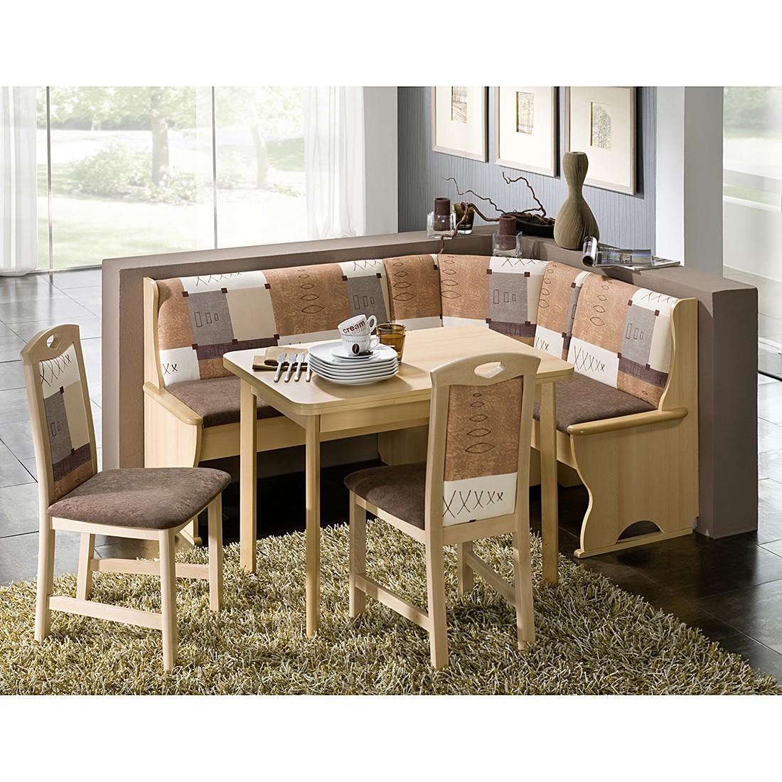 eckbankgruppen buche preisvergleich die besten angebote online kaufen. Black Bedroom Furniture Sets. Home Design Ideas
