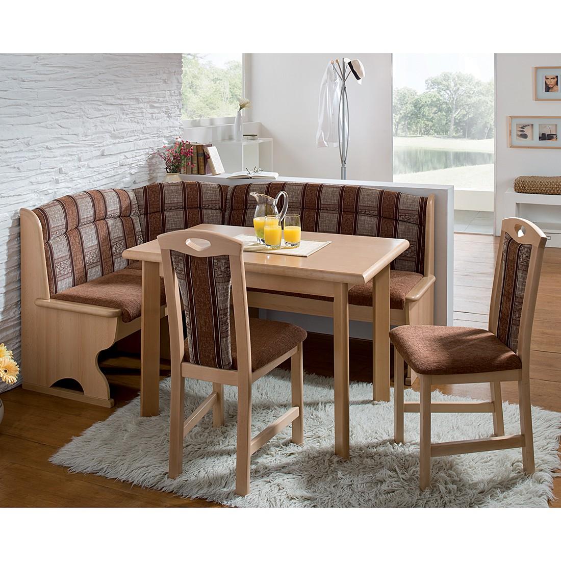 eckbankgruppen buche preisvergleich die besten angebote. Black Bedroom Furniture Sets. Home Design Ideas