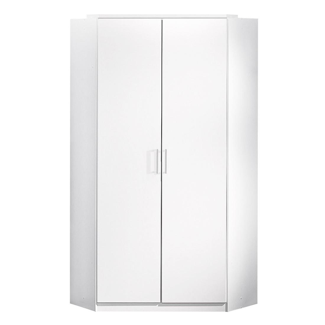 Armoire d'angle Click - Blanc alpin, Wimex