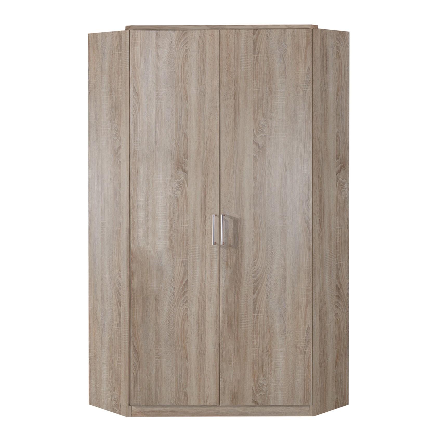 Armoire d'angle Click - Imitation chêne brut de sciage, Wimex