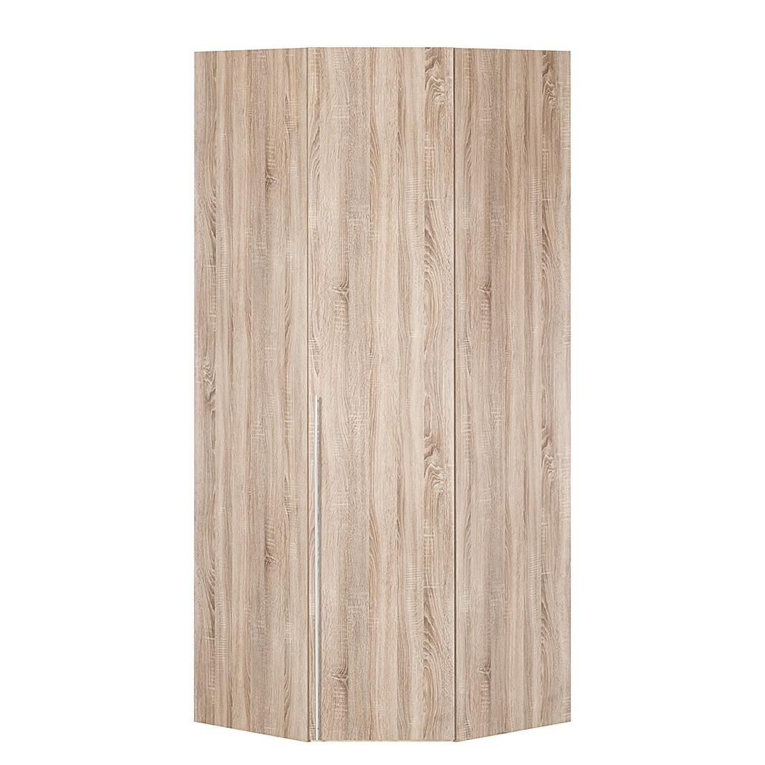 Armoire d'angle Brooklyn II - Imitation chêne de Sonoma - 216 cm, Express Möbel