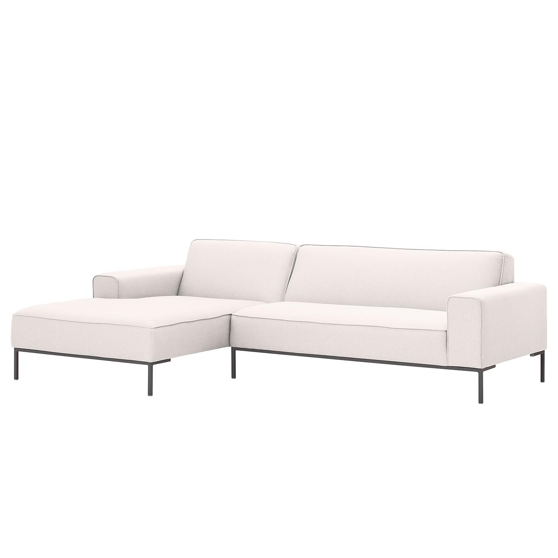 canap d 39 angle ampio i tissu m ridienne gauche vue de face gris. Black Bedroom Furniture Sets. Home Design Ideas