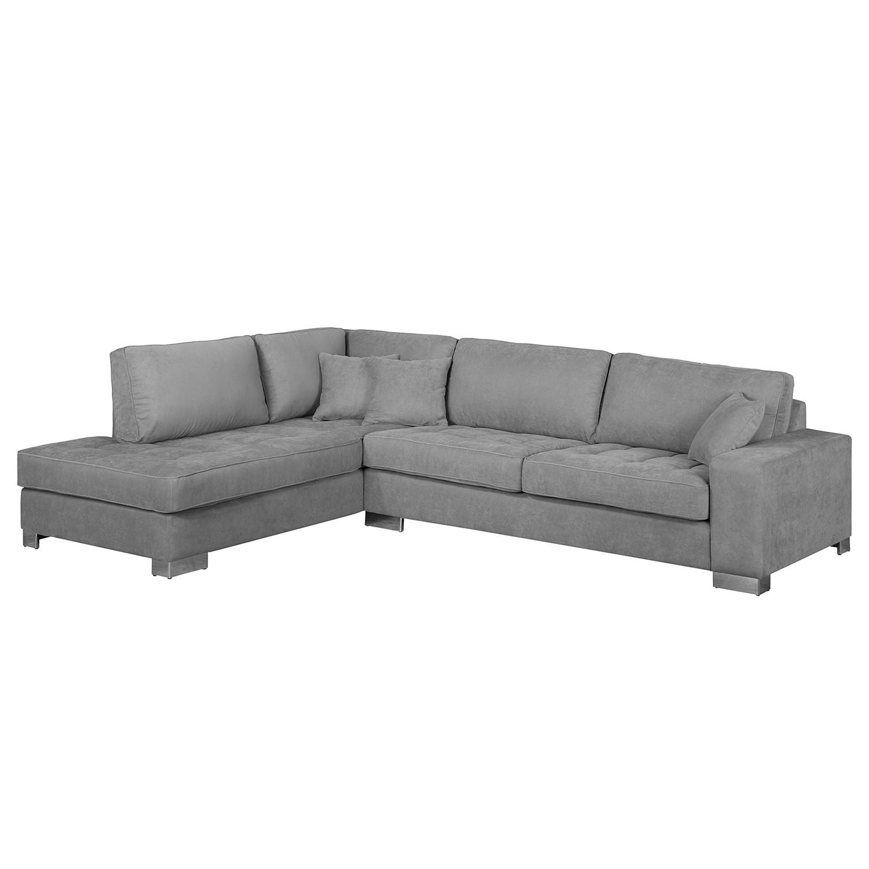ecksofa calipso webstoff longchair ottomane davorstehend links grau fredriks g nstig. Black Bedroom Furniture Sets. Home Design Ideas