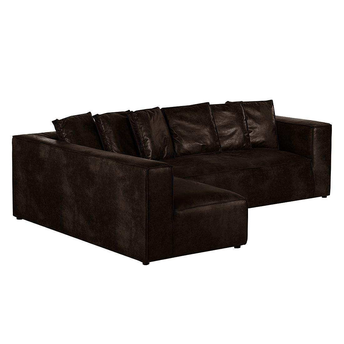 ecksofa debbie ii antiklederoptik ottomane. Black Bedroom Furniture Sets. Home Design Ideas