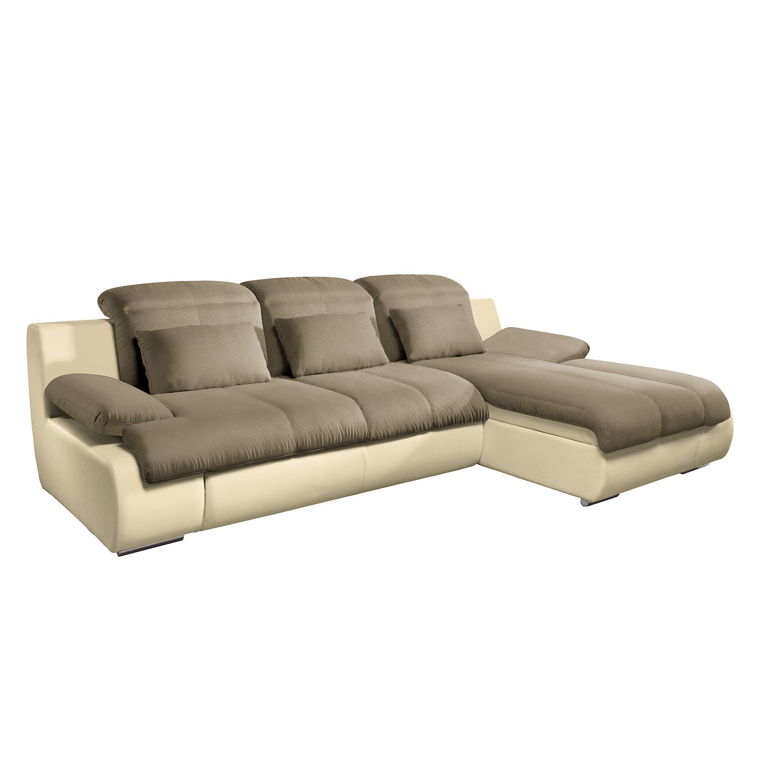 ecksofa mit schlaffunktion creme inspirierendes design f r wohnm bel. Black Bedroom Furniture Sets. Home Design Ideas