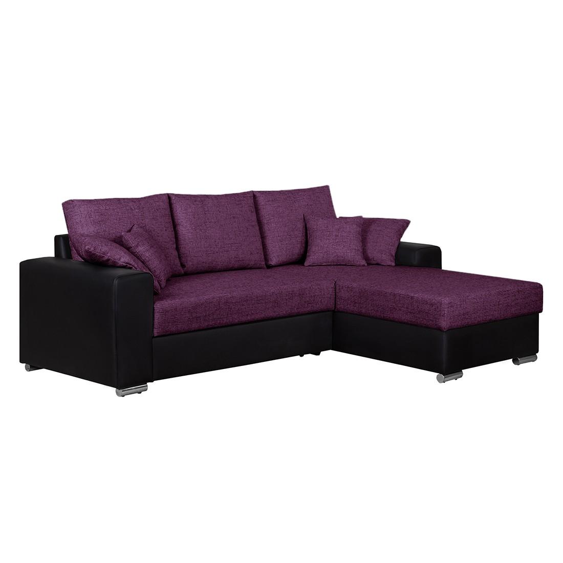 ecksofa dulmen mit schlaffunktion beidseitig montierbar kunstleder. Black Bedroom Furniture Sets. Home Design Ideas