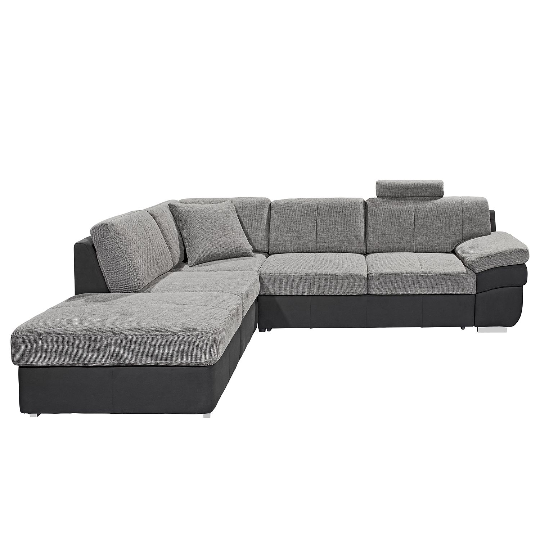 sofa mit ottomane hussen home affaire ecksofa palmina. Black Bedroom Furniture Sets. Home Design Ideas