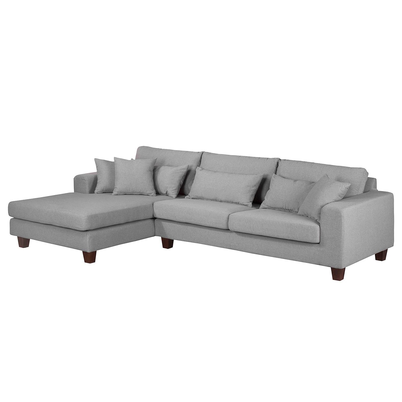 ecksofa fraser webstoff longchair ottomane davorstehend links grau roomscape g nstig kaufen. Black Bedroom Furniture Sets. Home Design Ideas