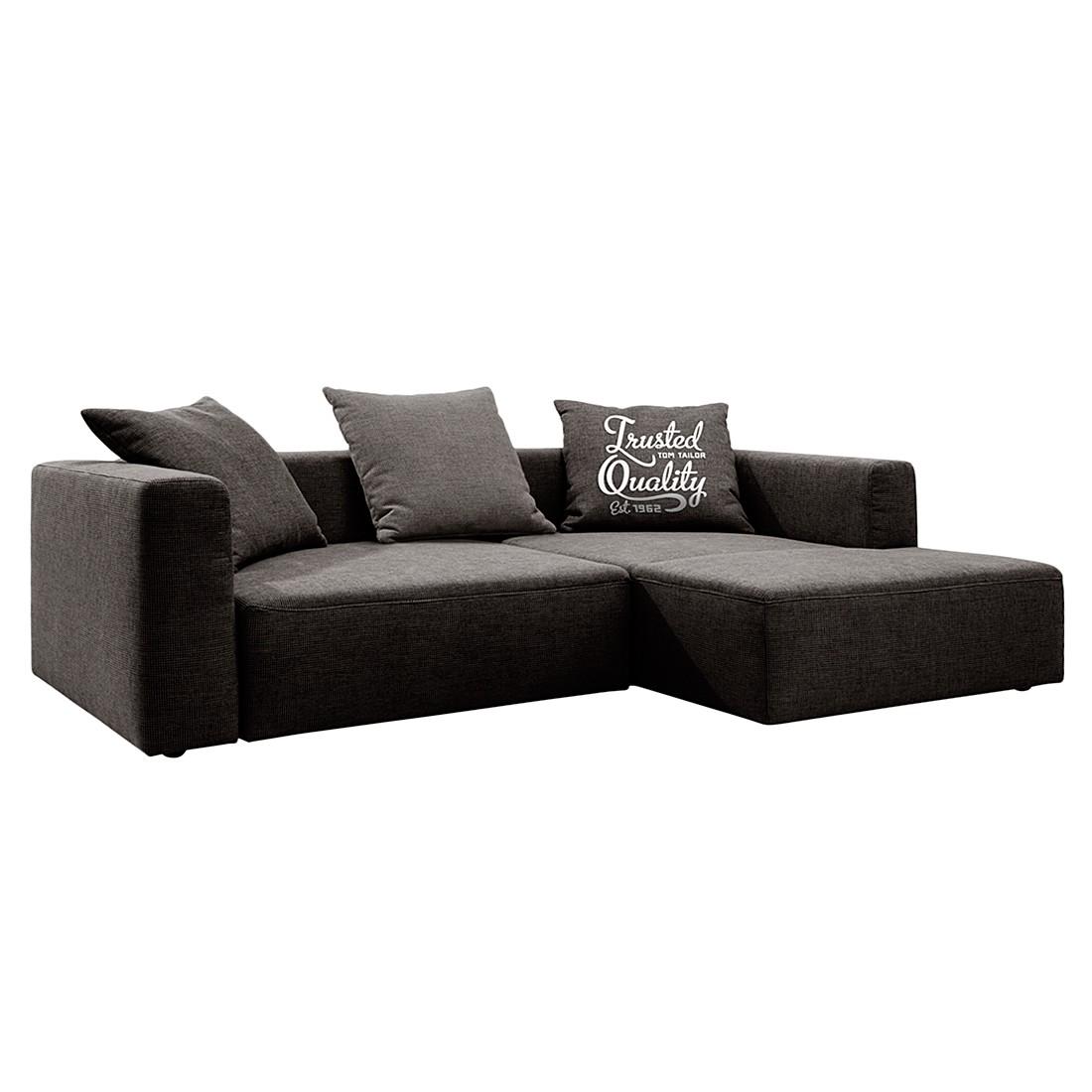 ecksofa heaven casual webstoff longchair ottomane davorstehend rechts ohne schlaffunktion. Black Bedroom Furniture Sets. Home Design Ideas