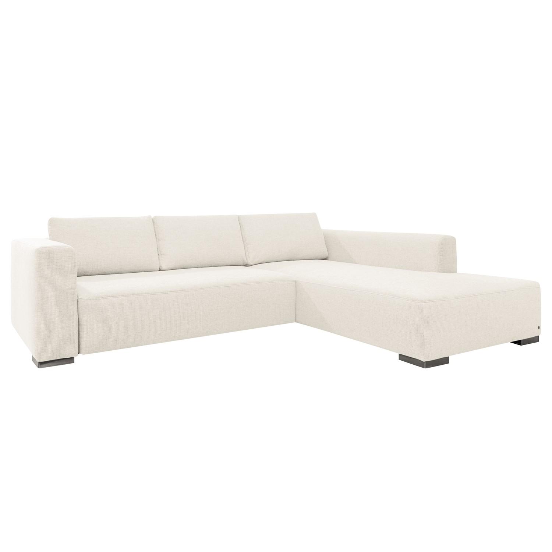 Canapé d'angle Heaven Colors Style XL - Tissu - Méridienne à droite (vue de face) - Sans fonction co