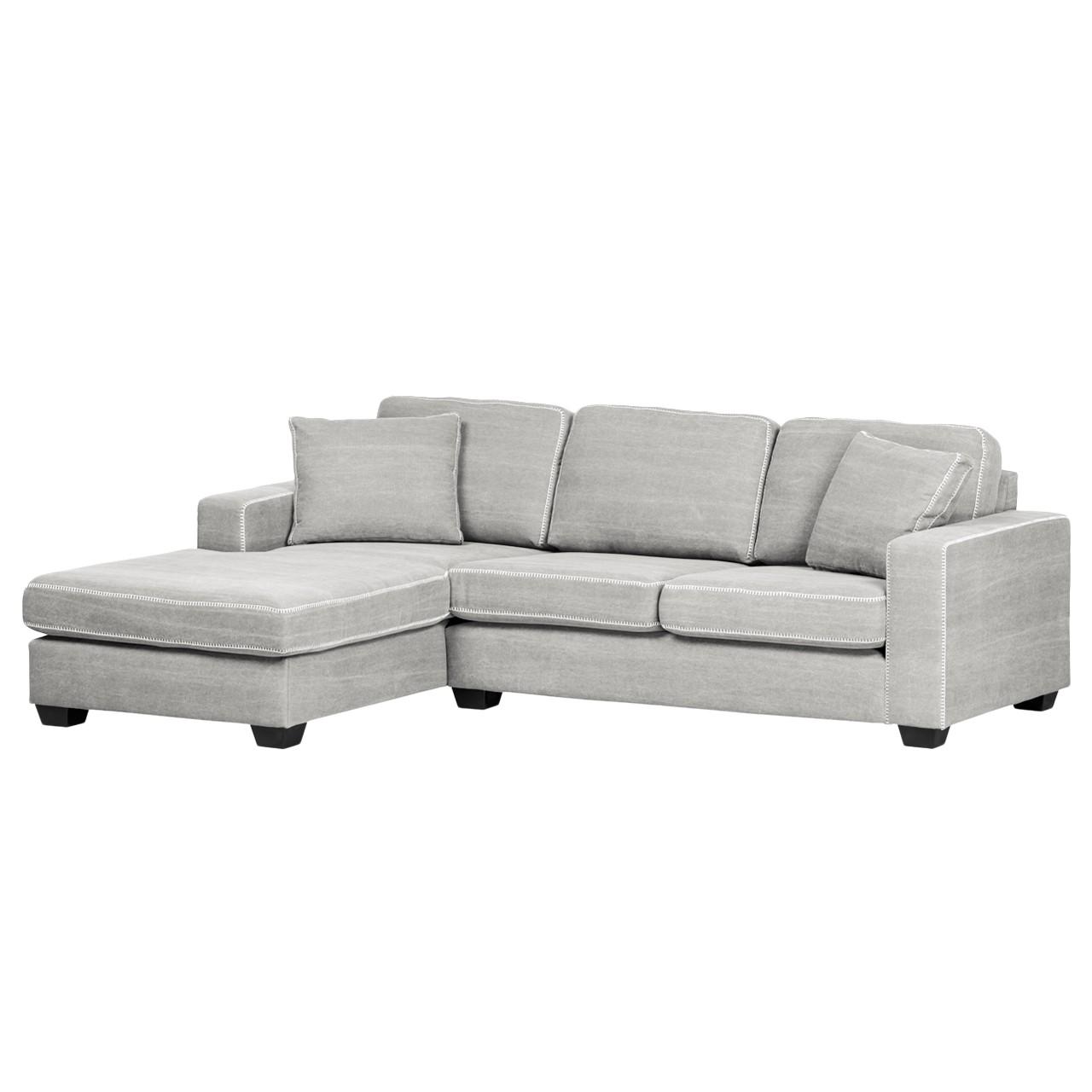Sandgrau sofa interessante ideen f r die for Ecksofa nelson