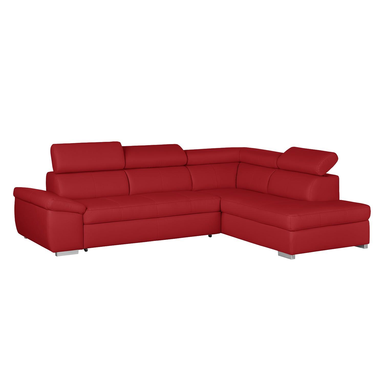 Ecksofas & Eckcouches online kaufen  MöbelSuchmaschine  -> Ecksofa Mit Schlaffunktion Rot