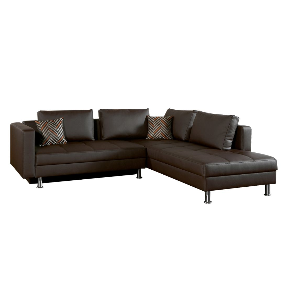ecksofa blaxton mit schlaffunktion beidseitig. Black Bedroom Furniture Sets. Home Design Ideas