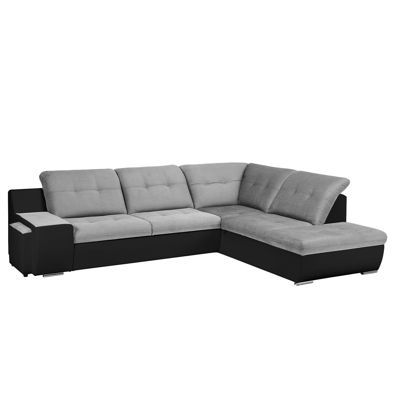 Canapé d'angle New Rockford I - Imitation cuir / Microfibre - Convertible - Courte à droite (vue de
