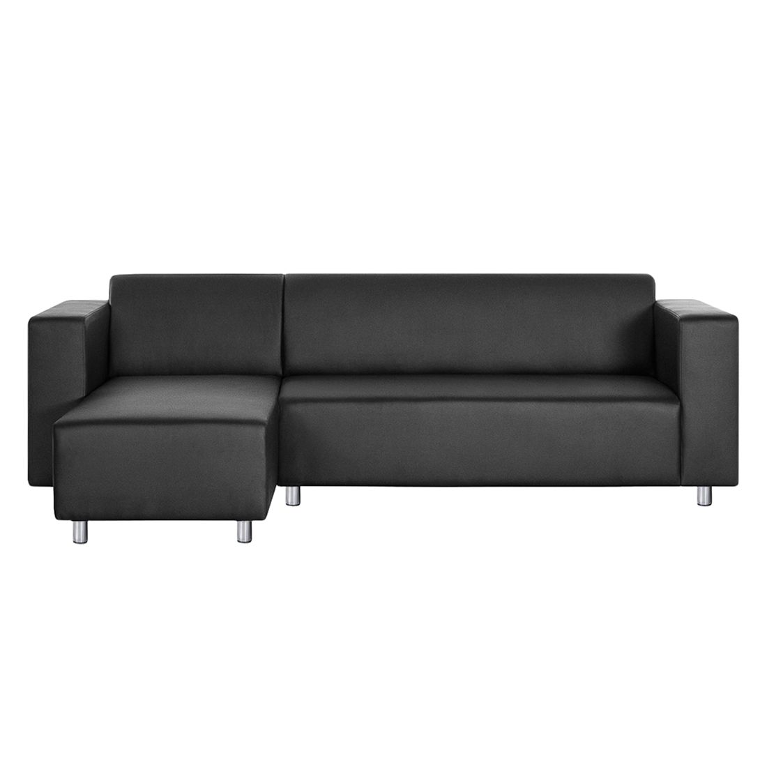 ecksofa kunstleder schwarz ecksofa nizza kunstleder schwarz home24 ecksofa schwarz kunstleder. Black Bedroom Furniture Sets. Home Design Ideas