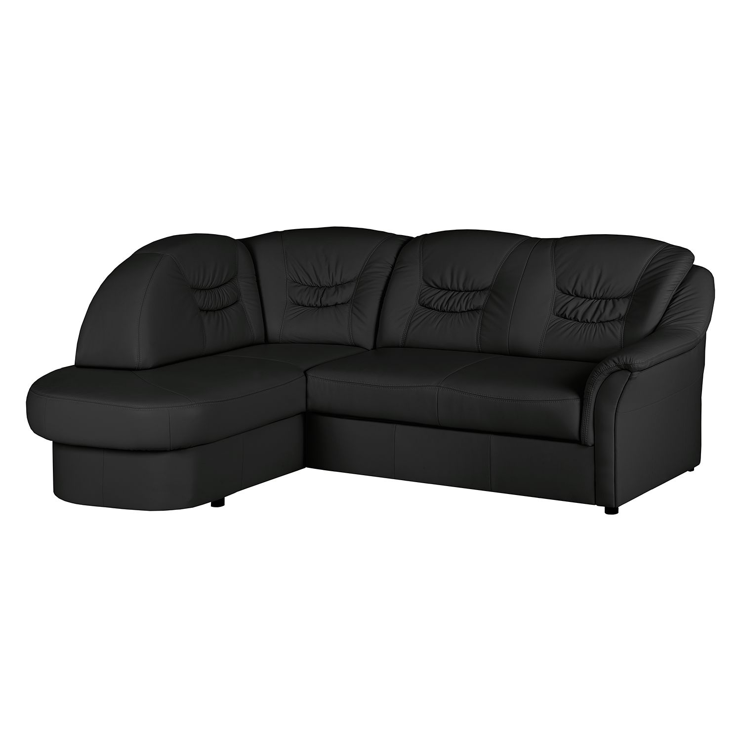 ecksofa parnu echtleder longchair ottomane davorstehend links s couch ebay. Black Bedroom Furniture Sets. Home Design Ideas