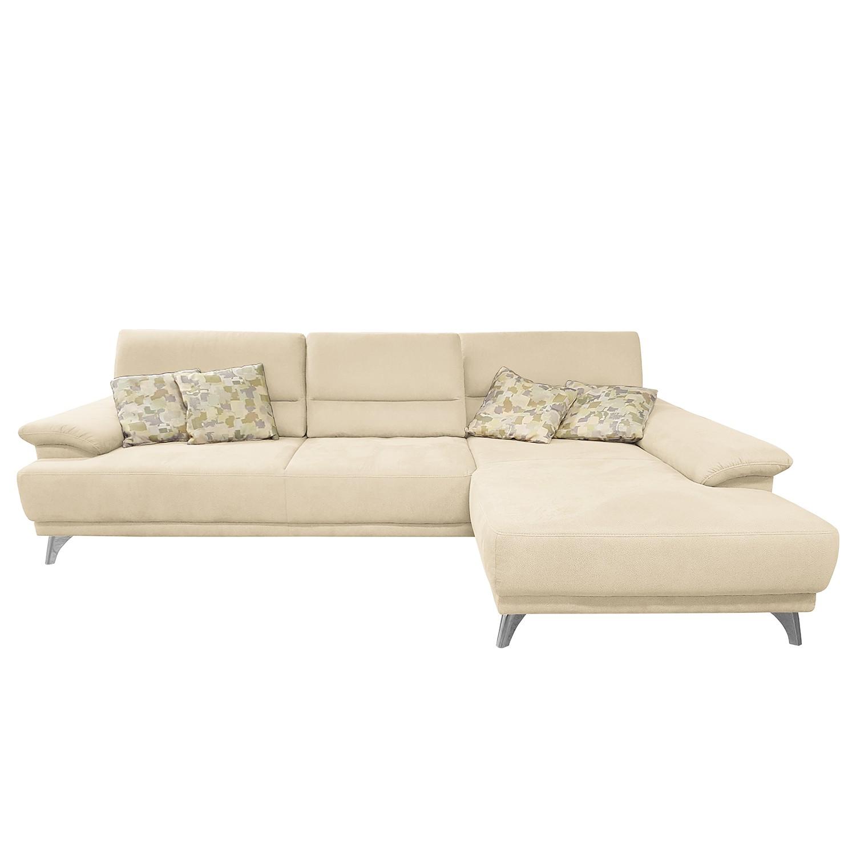 canap d angle pattani tissu courte droite vue de face cr me fredriks meubles en ligne. Black Bedroom Furniture Sets. Home Design Ideas