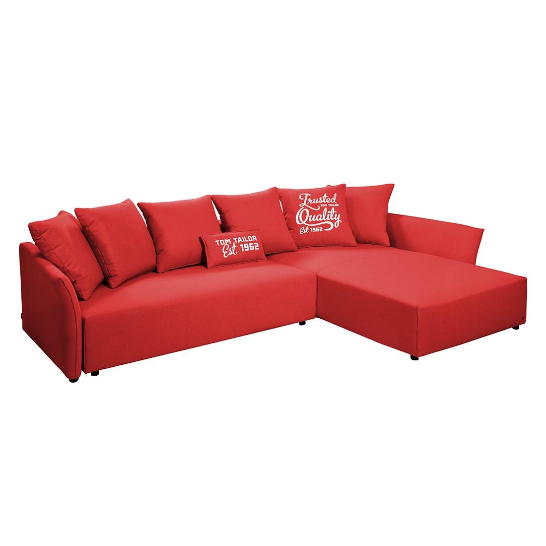 Ecksofas & Eckcouches online kaufen  MöbelSuchmaschine  # Ecksofa Mit Schlaffunktion Rot