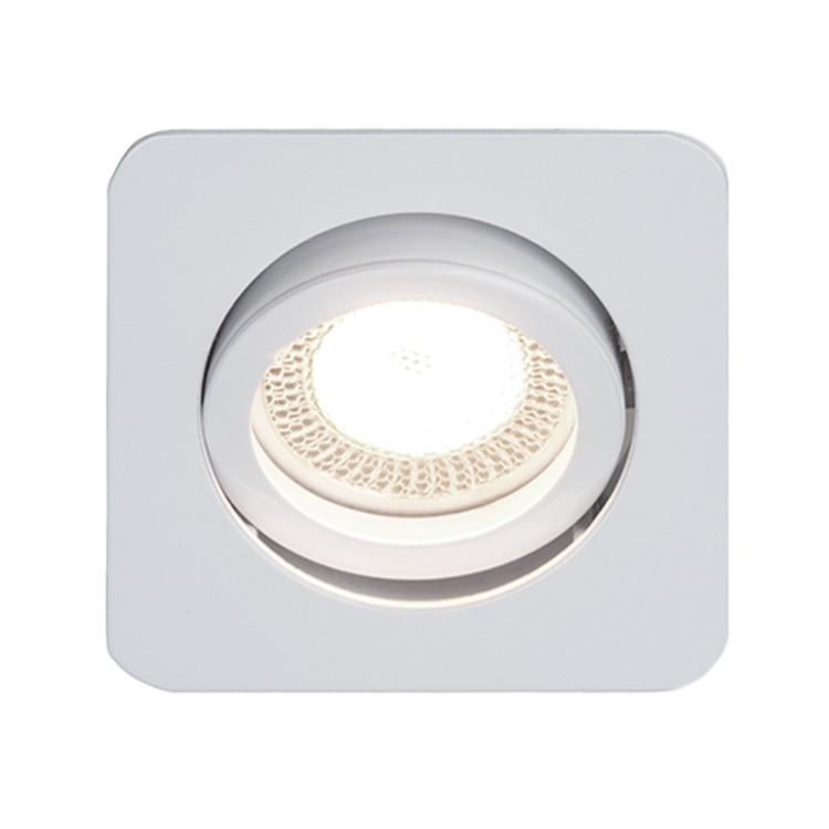 energie  A++, Inbouwlamp Easy Clip - wit metaal 3 lichtbronnen, Brilliant