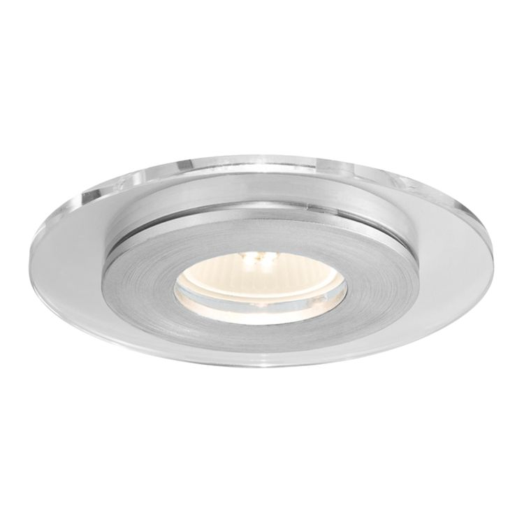 EEK A++, Premium LED Einbauleuchte Set single Shell - 3x 3,5W - Alu/Glas, Paulmann