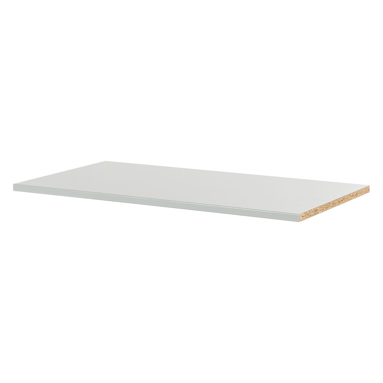Inlegplanken Chicago II -3-delige set - strepenlook zilverkleurig-grijs - 96cm, Wiemann