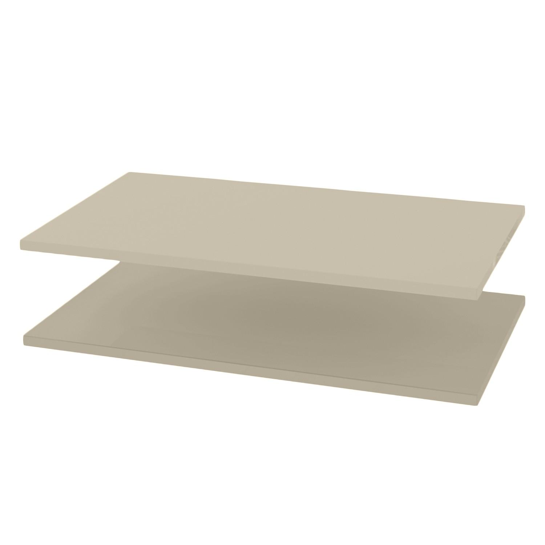 Tablette d'étagère KSW (lot de 2) - Pour armoire d'angle, Wellemöbel