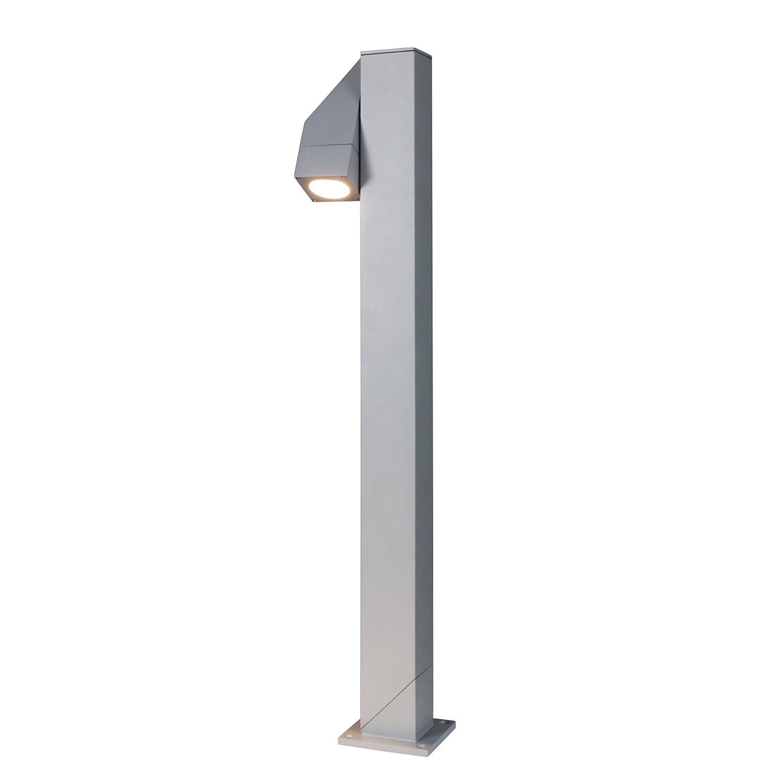 energie  A++, Energiezuinige buitenlamp Pan II - aluminium zilverkleurig 1 lichtbron, Näve