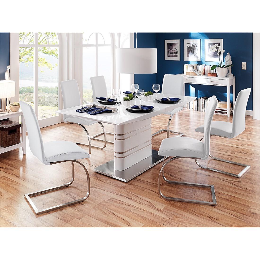 Ensemble de salle à manger Modus - Avec table à manger et 6 chaises cantilever, Fredriks