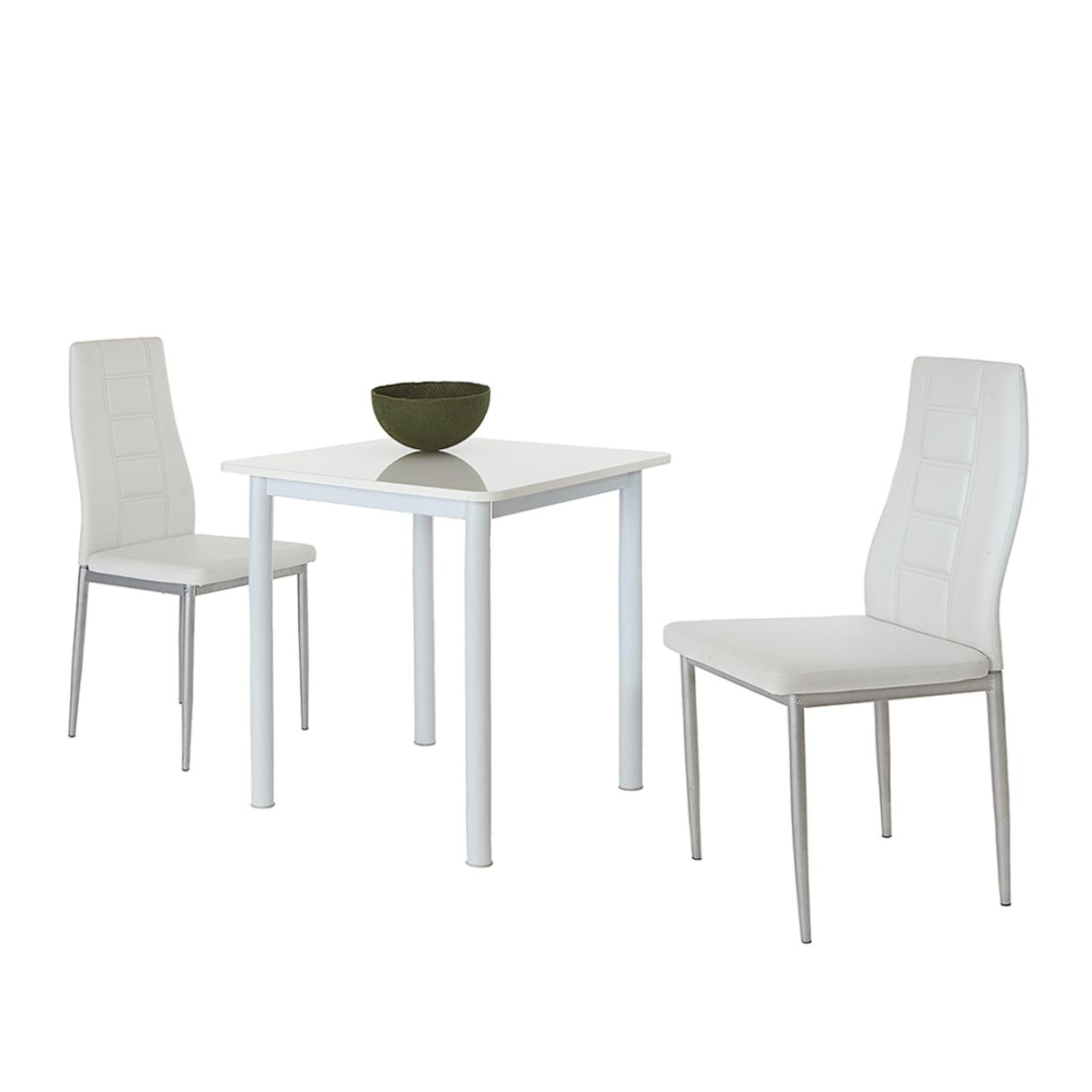 Eettafel Sofia (3-delige set) - wit, Home Design