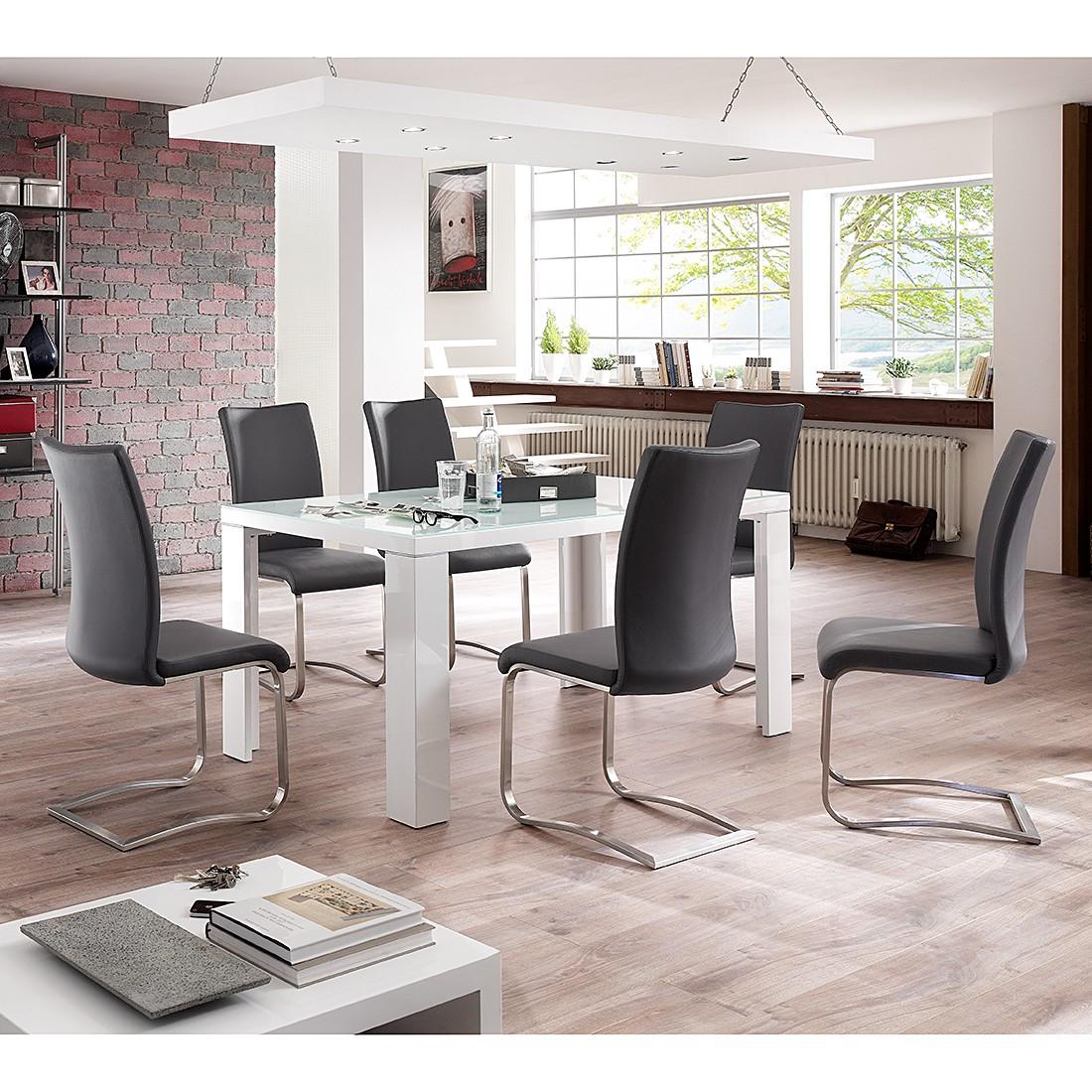 essgruppe weiss preisvergleich die besten angebote. Black Bedroom Furniture Sets. Home Design Ideas