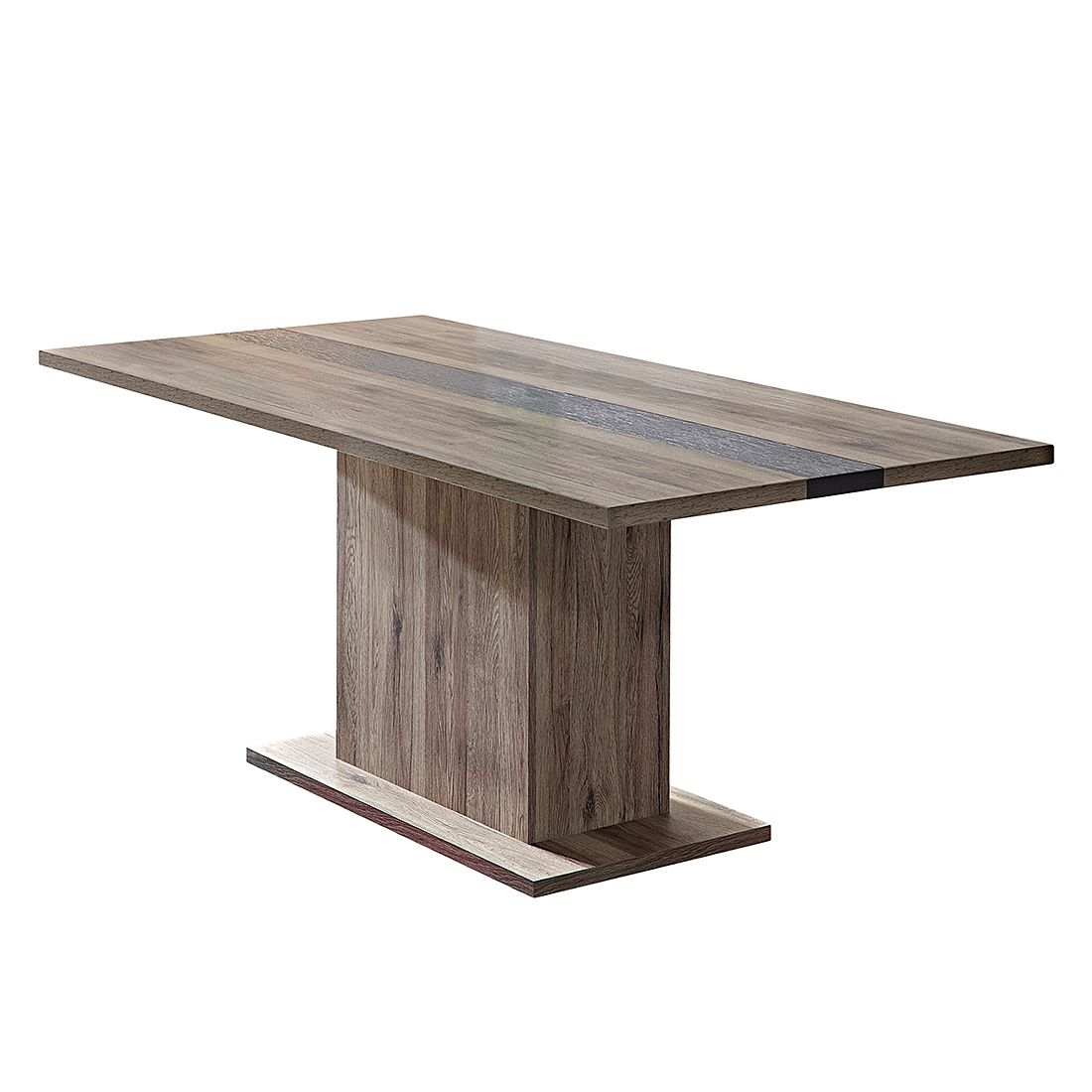 Table de salle à manger Adorno - Imitation chêne de San Remo / Imitation ardoise, Fredriks