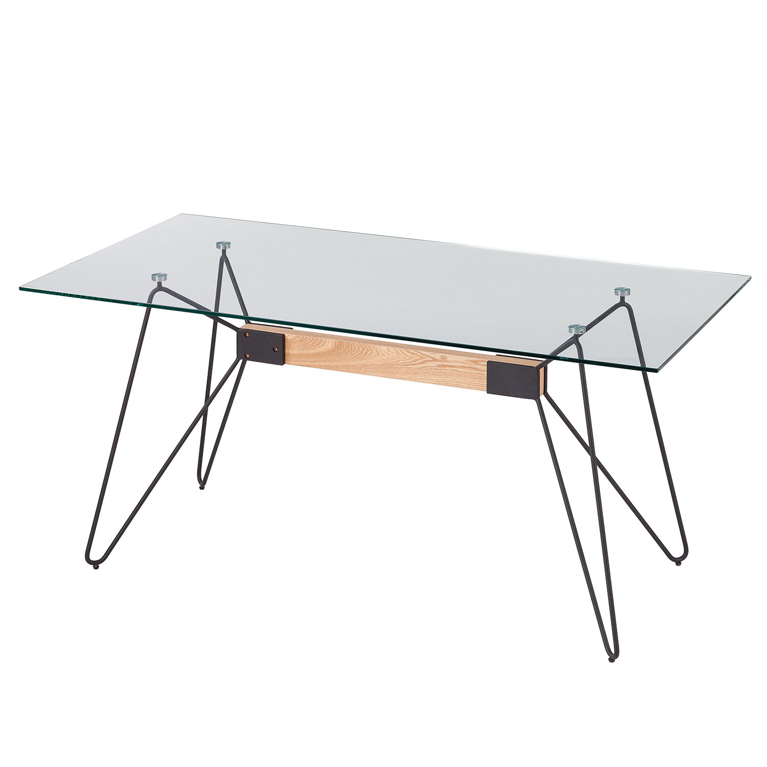 Table basse ronde en aluminium d 91 cm nomade style ongles for Table basse nomade
