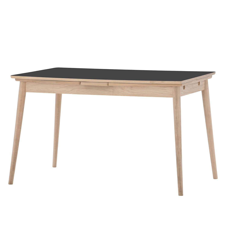 Table à manger Arvid (extensible) - Chêne partiellement massif - Anthracite / Chêne, Studio Copenhag