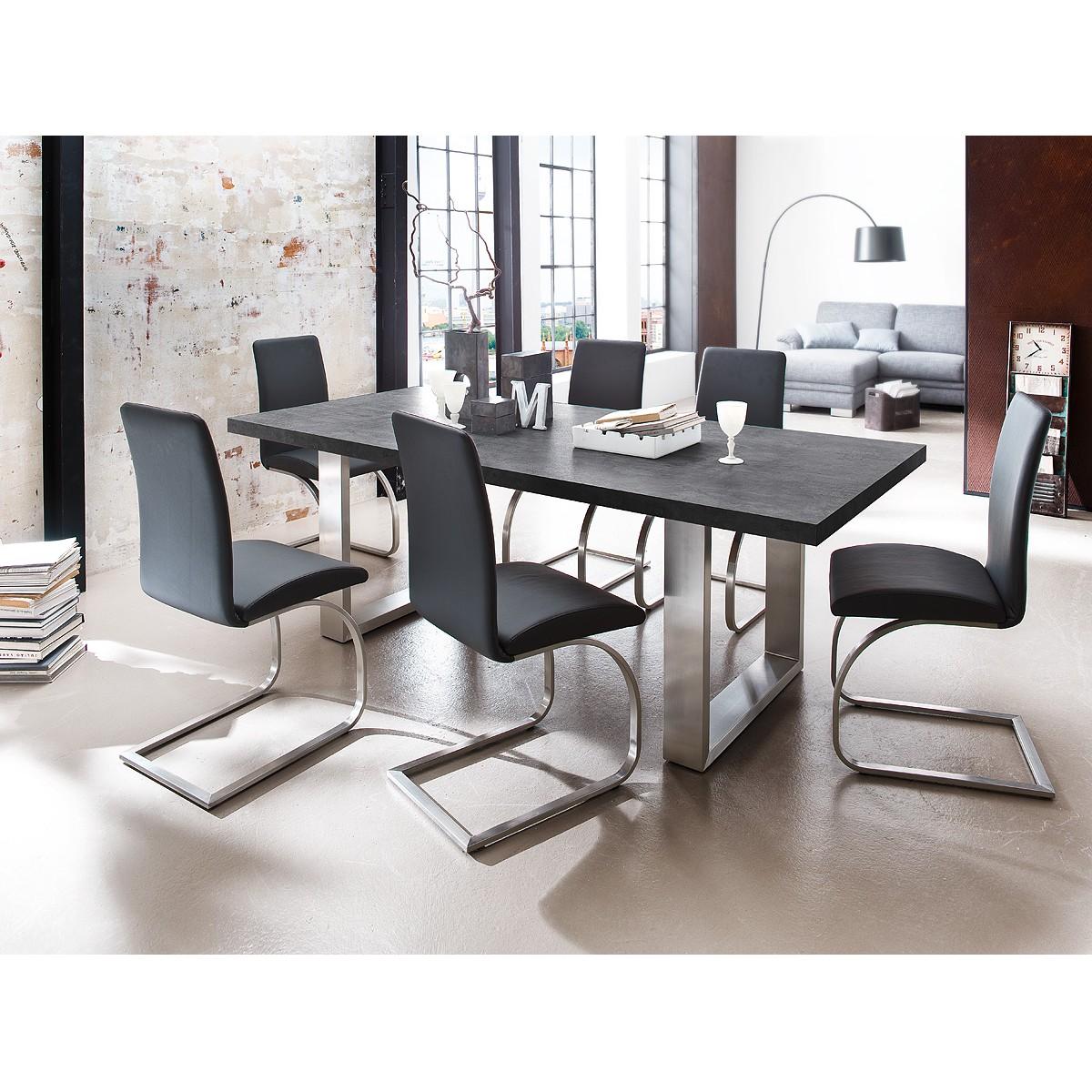 21 sparen esstisch boonton von fredriks nur 499 99 for Tischplatte marmoroptik