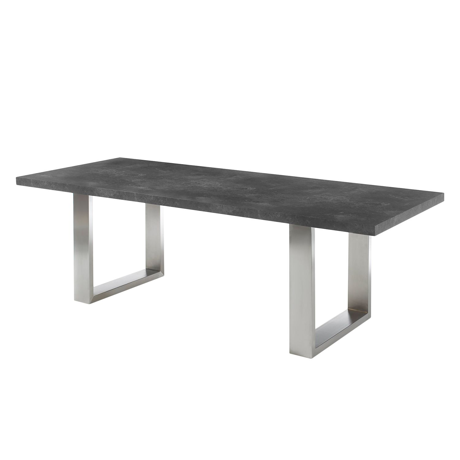 Table à manger Boonton - Anthracite - 220 x 100 cm, Fredriks