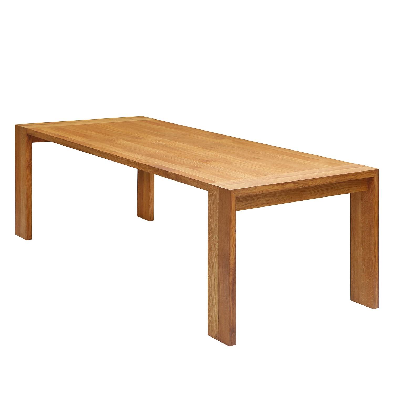 Home 24 - Table à manger bruce - chêne massif - chêne - 160 x 100 cm, studio copenhagen
