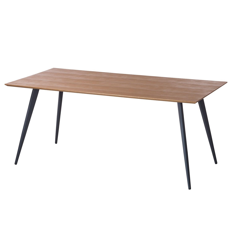Table à manger Danica - Chêne / Gris foncé mat, Studio Copenhagen