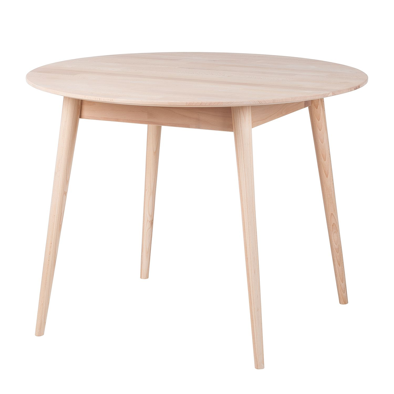 Table de salle à manger Finsby II - Hêtre massif, Morteens