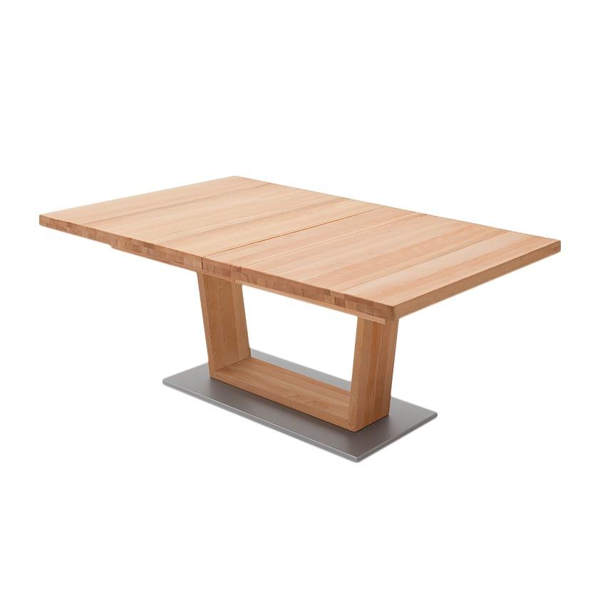 Table à manger Jeffo I - Duramen de hêtre - 140 x 90 cm, Ars Natura