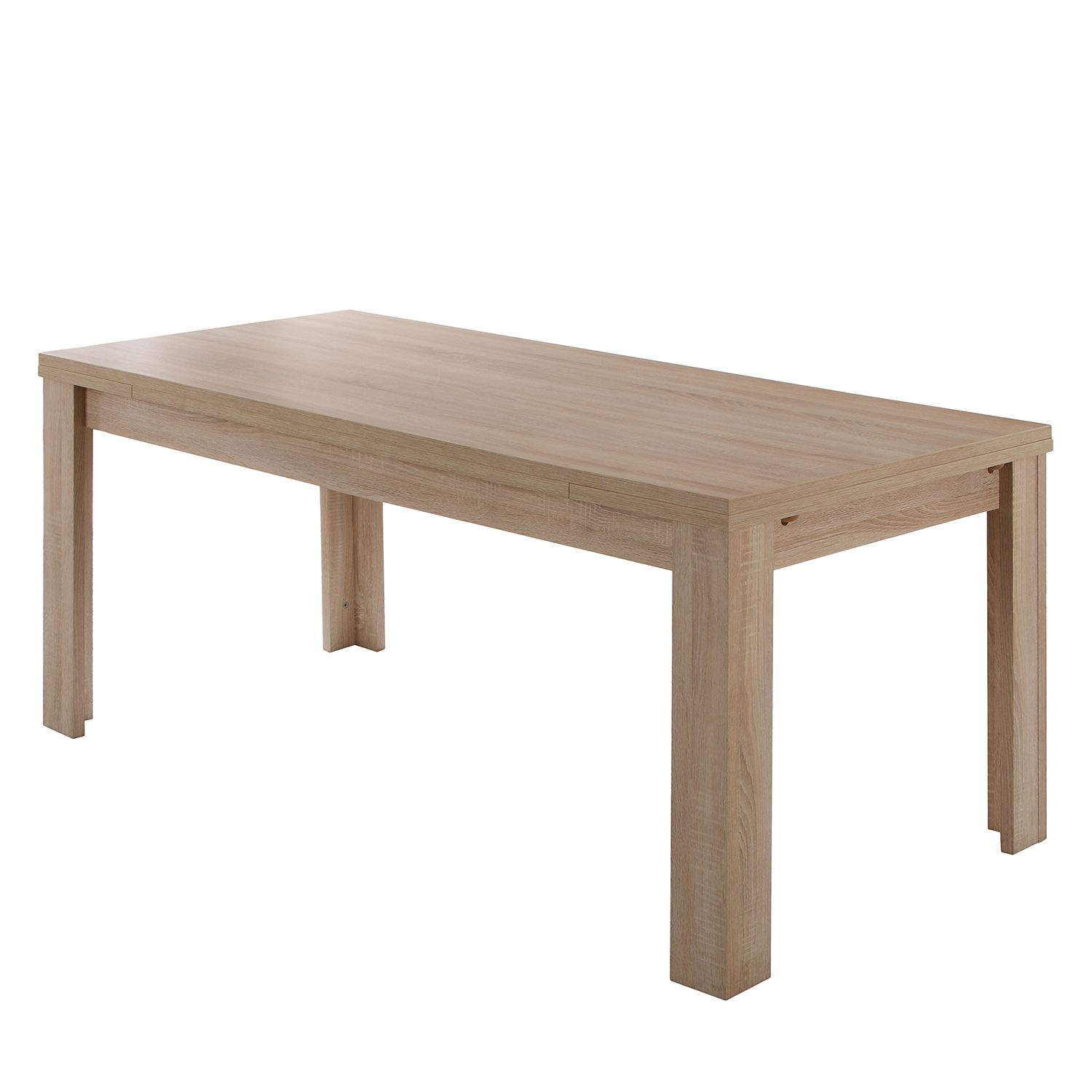 Table manger leaf avec rallonges for Table a manger 160 cm avec rallonge