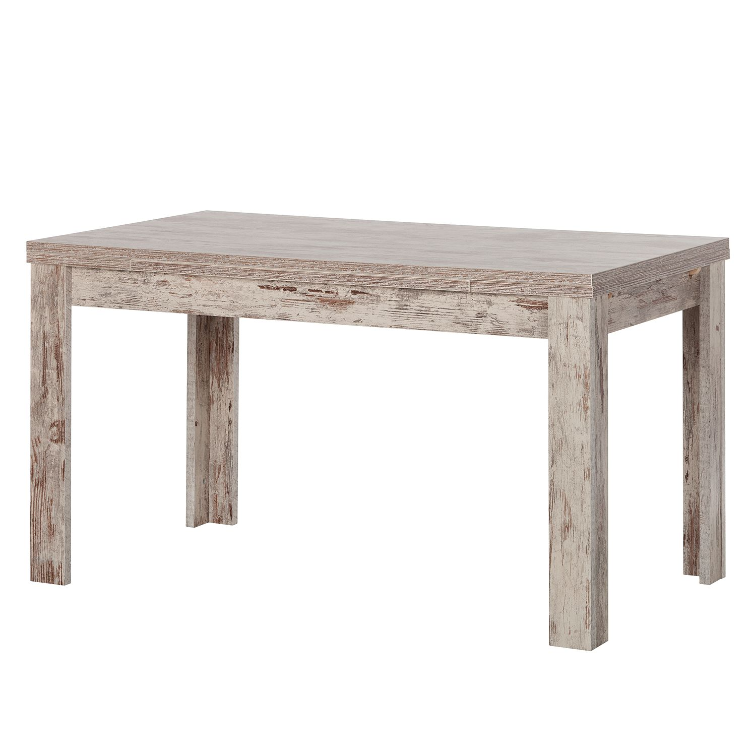 Table à manger Galant (extractible) - Chêne antique - Largeur : 140 cm, mooved