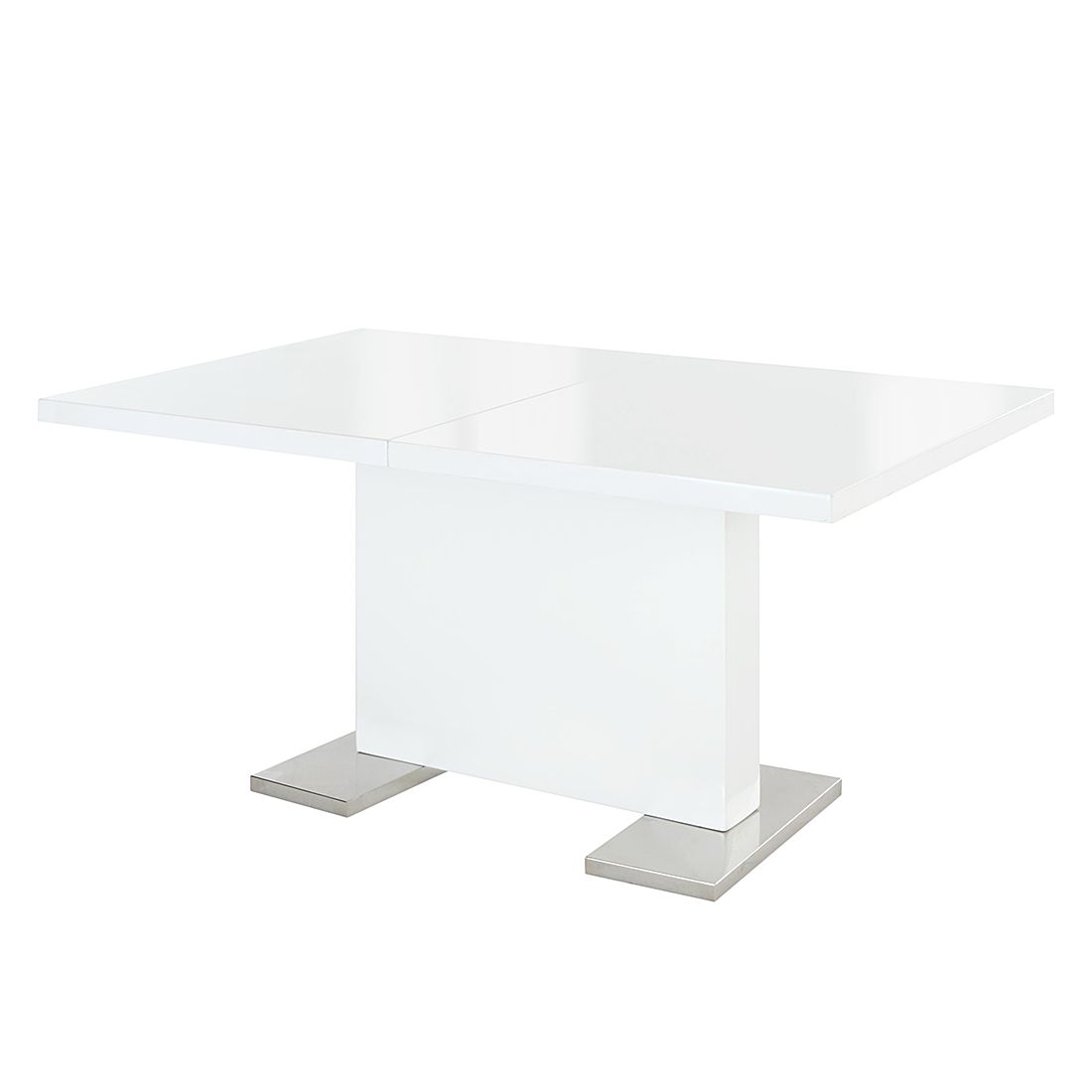 Table à manger Léon (extensible) - Blanc, Home Design