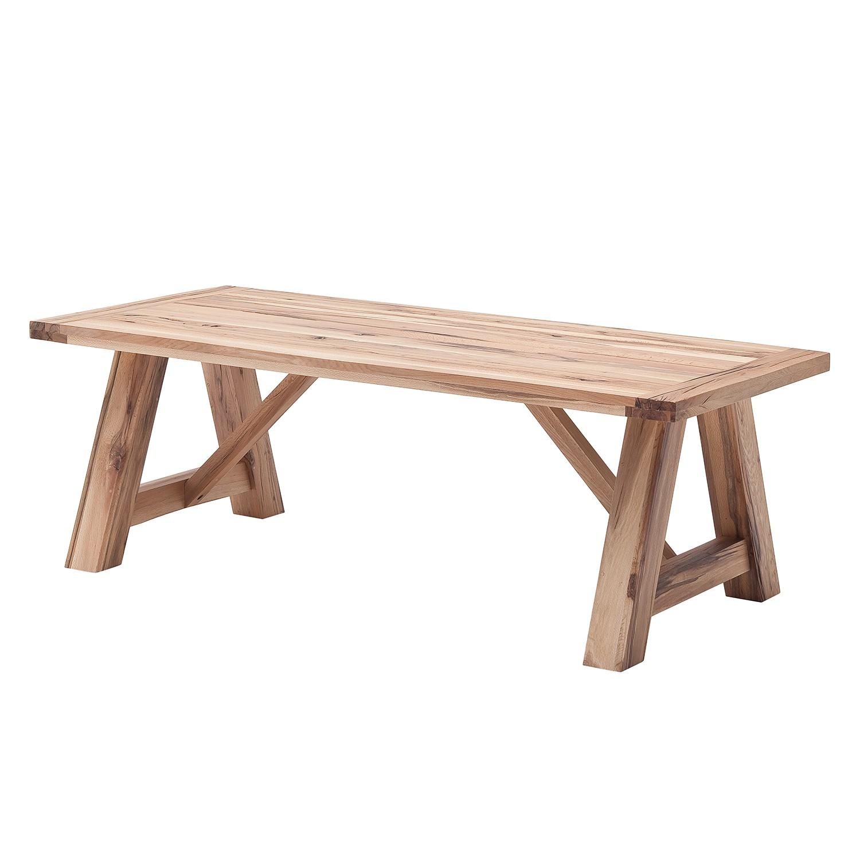 Home 24 - Table à manger lestad - imitation chêne de bassano - 260 x 100 cm, ars natura