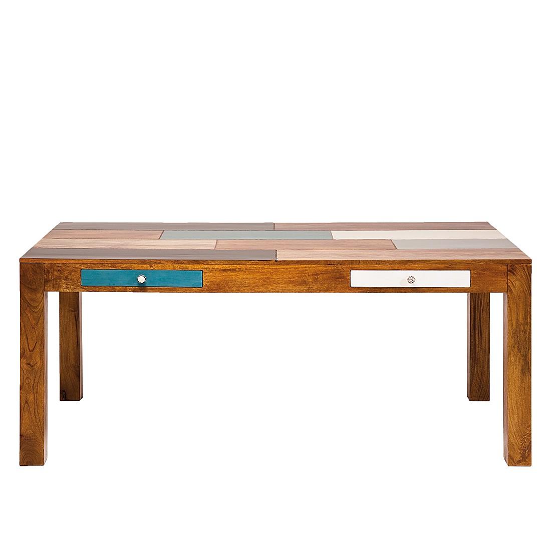Table à manger Babalou - Manguier massif - Verni, Kare Design