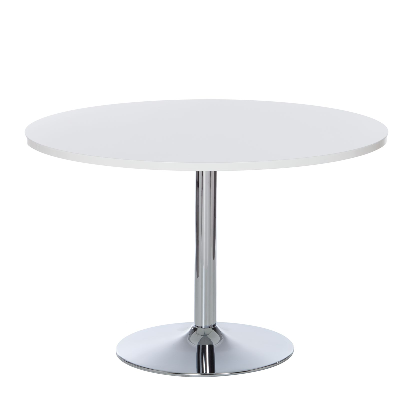 Table à manger Matilda - Blanc brillant, Fredriks