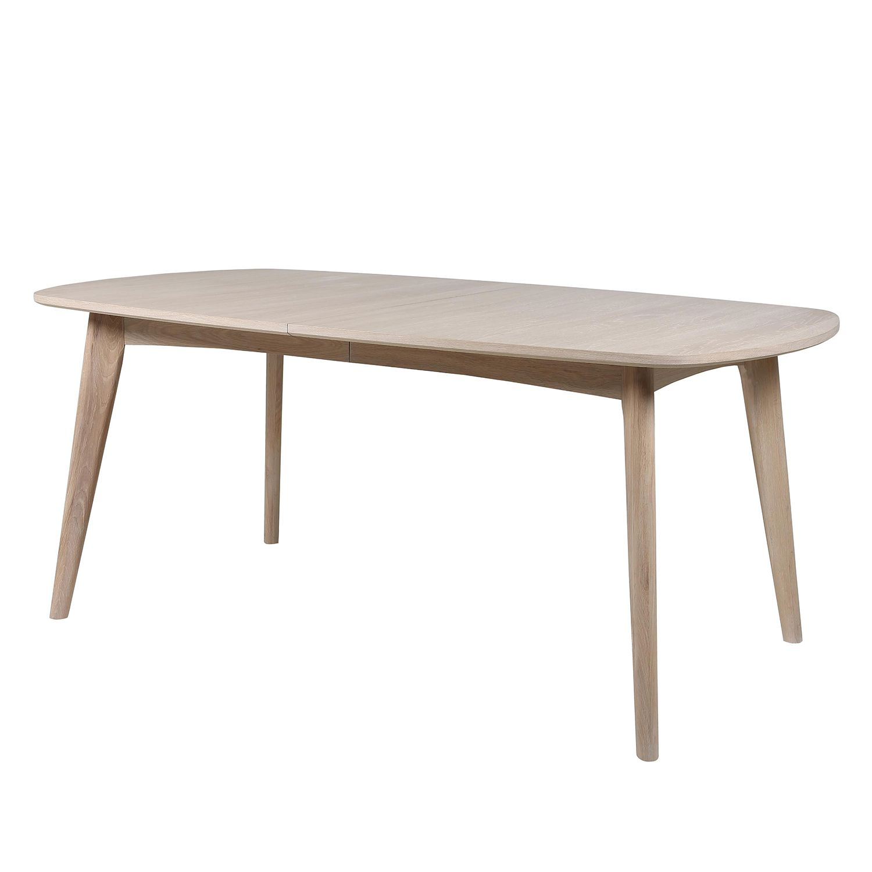 Table à manger Meja (avec rallonge) - Chêne blanc huilé, Morteens