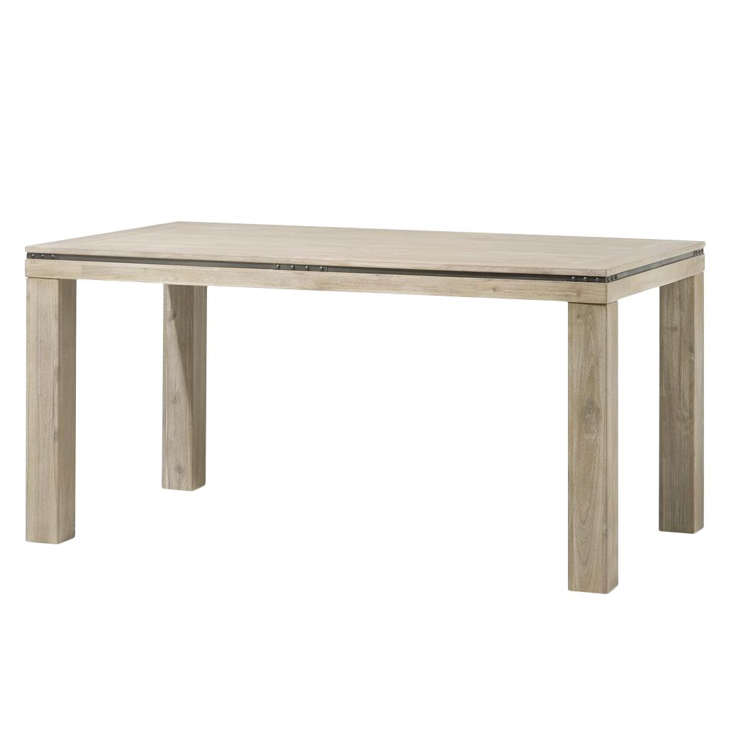 Home 24 - Table à manger panay i - acacia massif - 160 x 90 cm, habufa